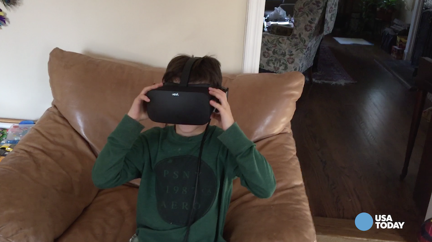 Oculus Rift is pricey and requires a robust PC, but it was a big hit in the Baig household - especially with his son.