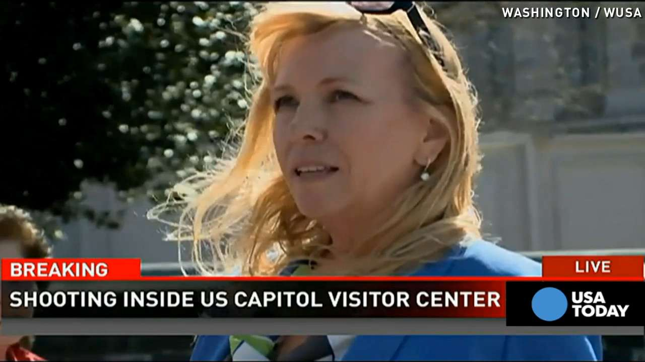 Woman describes evacuation during Capitol shooting