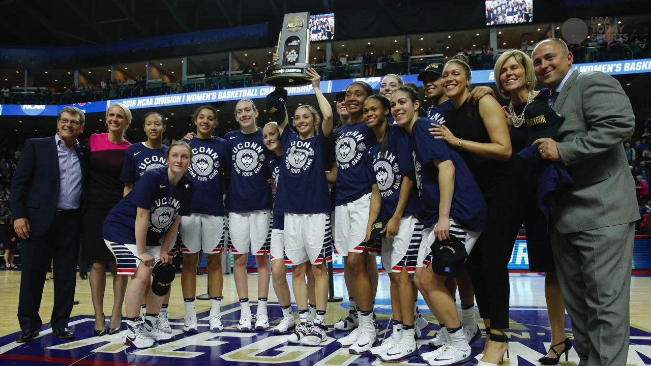 The UConn women's basketball team is continuing it's dominance as it heads to yet another final four.