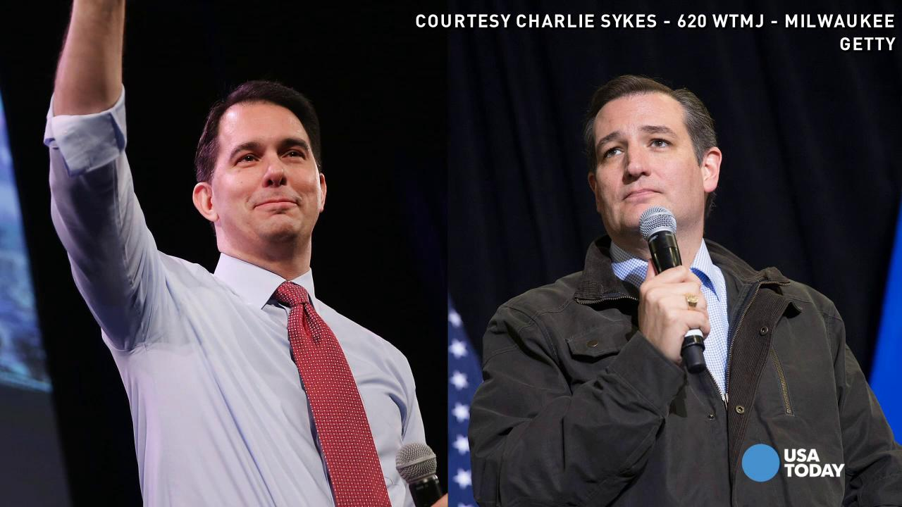 Gov. Scott Walker 'proud to endorse Ted Cruz'