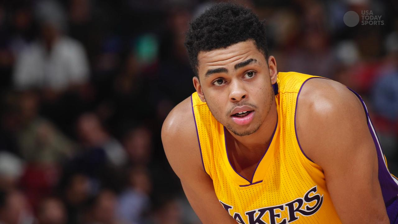Reports: Lakers players shun D'Angelo Russell over Nick Young video