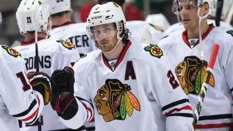 Chicago Blackhawks will likely have to start the playoffs without their No. 1 defenseman.