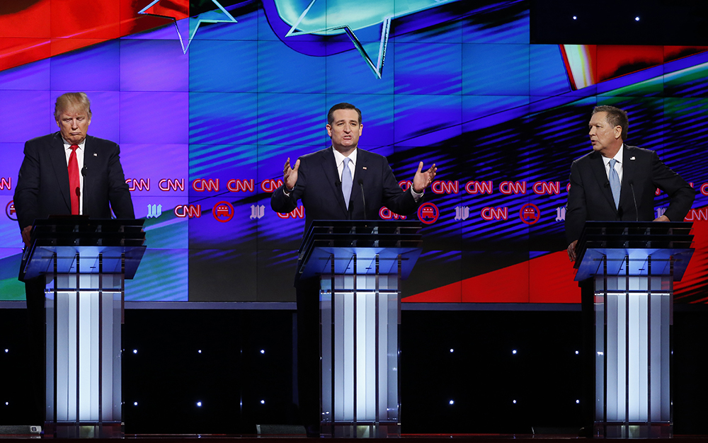 Trump, Cruz and Kasich take back vow to support Republican nominee