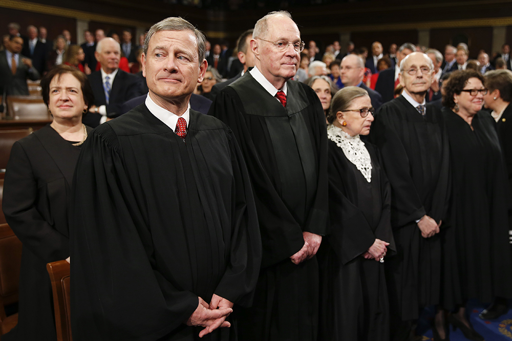 Eight justices create a divided court
