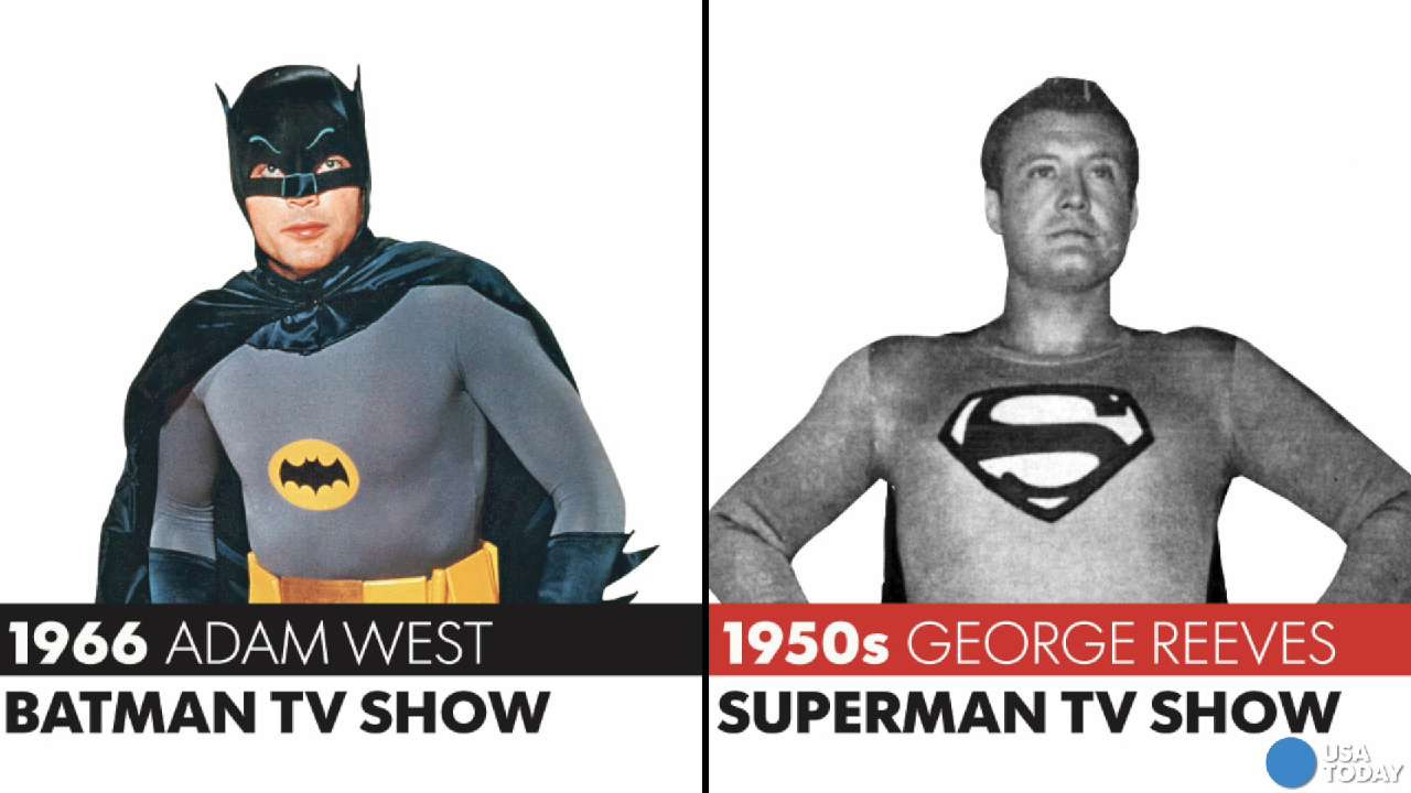 How the body types of Batman and Superman actors haveevolved.