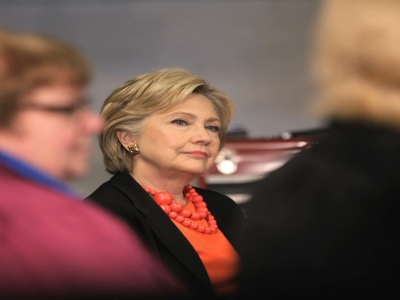 Hillary Clinton Weighs In On Final Four, Kind Of