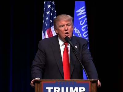 In Wisc., Trump Tries to Regain Campaign Footing