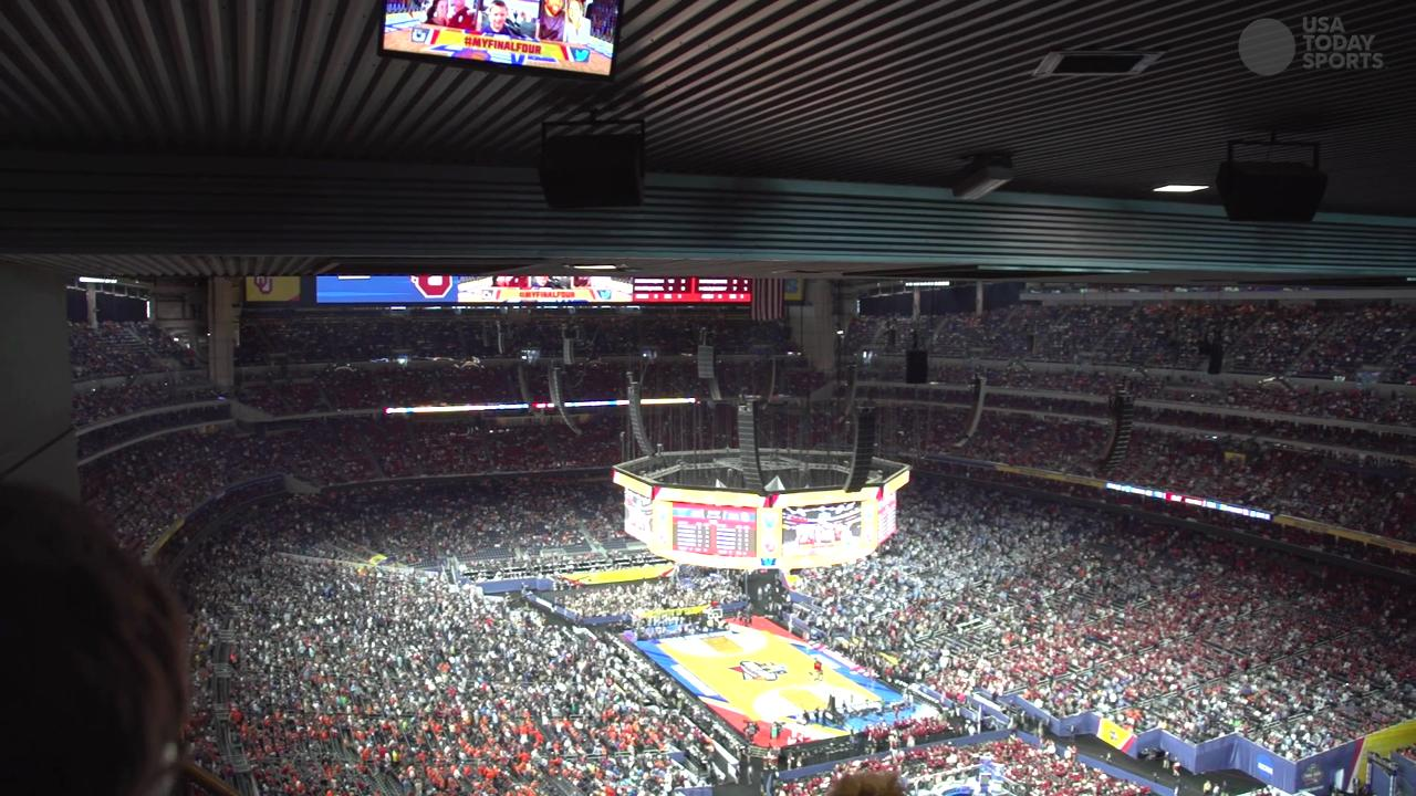 USA TODAY Sports shows you what it's like to sit in the worst seats available at the Final Four in Houston.