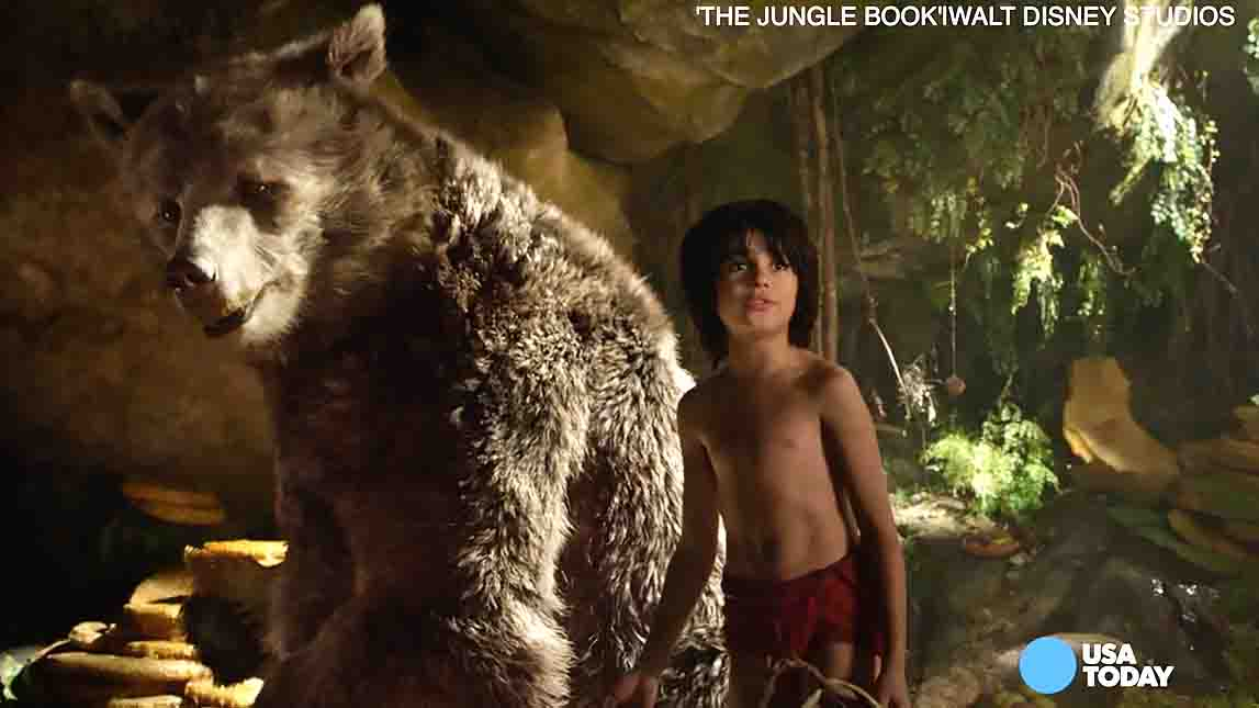 'Jungle Book' bare necessities: Mowgli's yell, Bill Murray