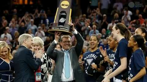 The UConn Huskies and the Syracuse Orange will face off for the national title on Tuesday night.