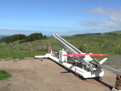 A California startup called Zipline International has announced a partnership with the government of Rwanda to use its fixed-wing cargo drones to deliver medical supplies to remote health clinics in the East African nation. (April 4)
