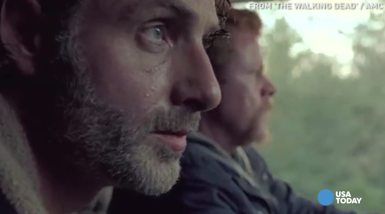 'The Walking Dead' season finale is one big cliffhanger