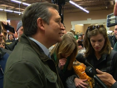 Cruz makes final pitch to Wisconsin voters