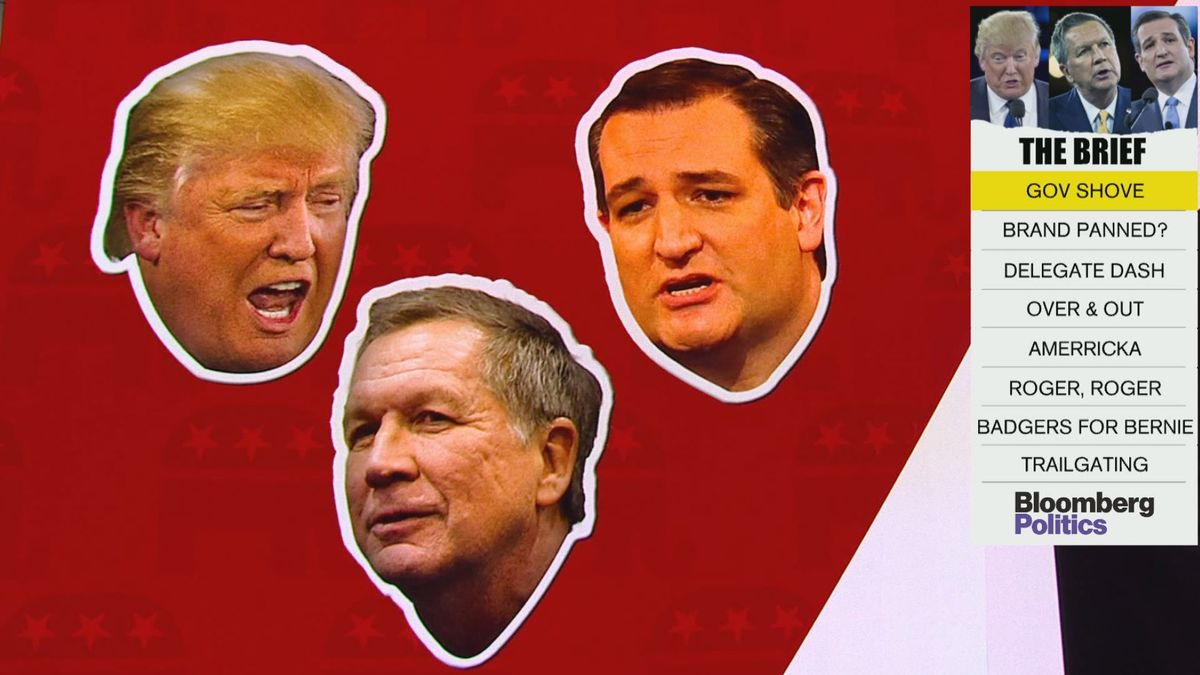 Trump and Cruz claim Kasich's just a spoiler