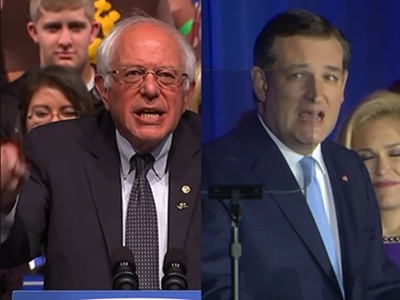 Cruz, Sanders victorious in Wisconsin