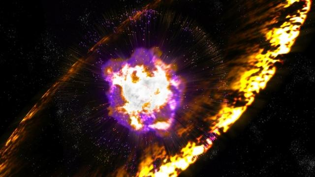 Earth survived two close calls with supernovas