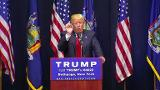 Trump attacks Cruz, delighting home crowd in new York