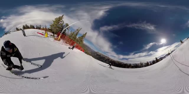 Ski with Ted Ligety in 360 degrees