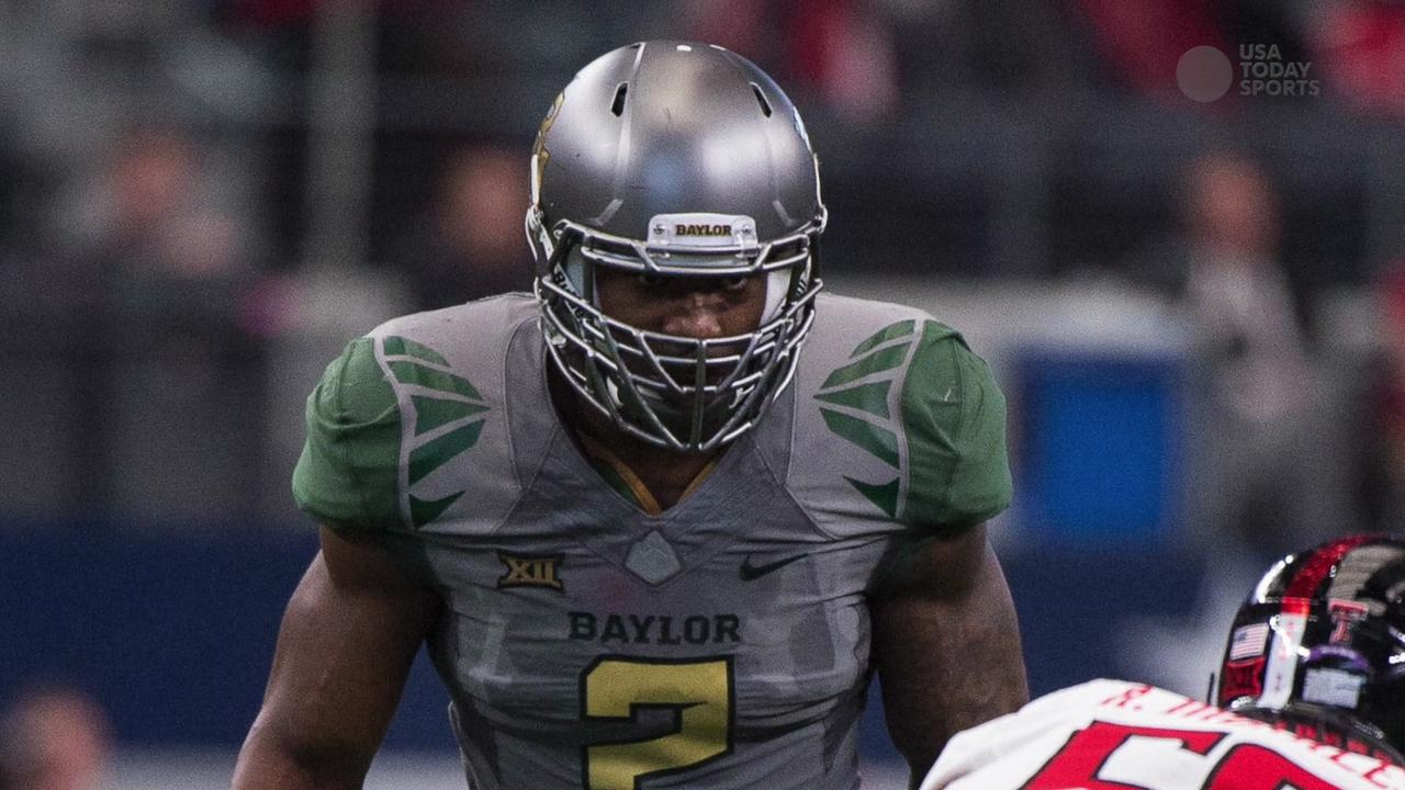 NFL draft prospect Shawn Oakman was searched this week by authorities as part of a sexual assault investigation according to USA Today Sports.