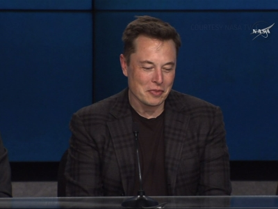 SpaceX CEO Hails Booster Landing as 'Milestone'
