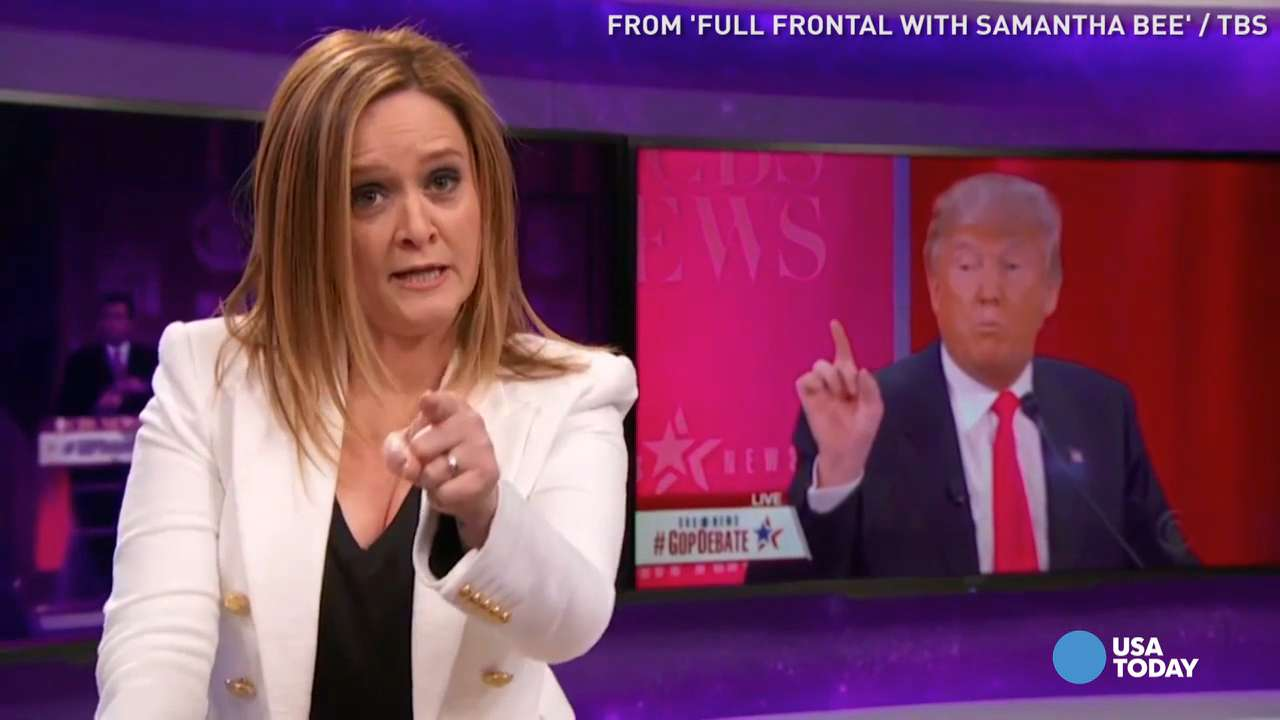 USA TODAY's Robert Bianco previews 'Full Frontal with Samantha Bee' and her new family comedy 'The Detour,' written by Bee and her husband Jason Jones, for Monday, April 11.
