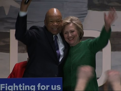 Maryland Rep. Cummings Endorses Hillary Clinton