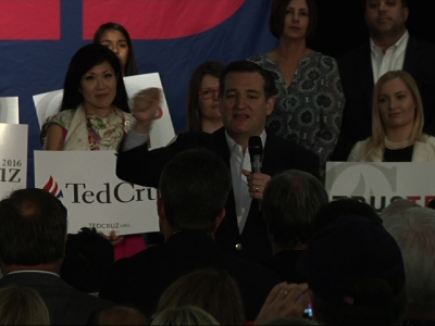 Cruz visits Calif. on whirlwind trip