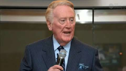 Vin Scully winds down iconic career