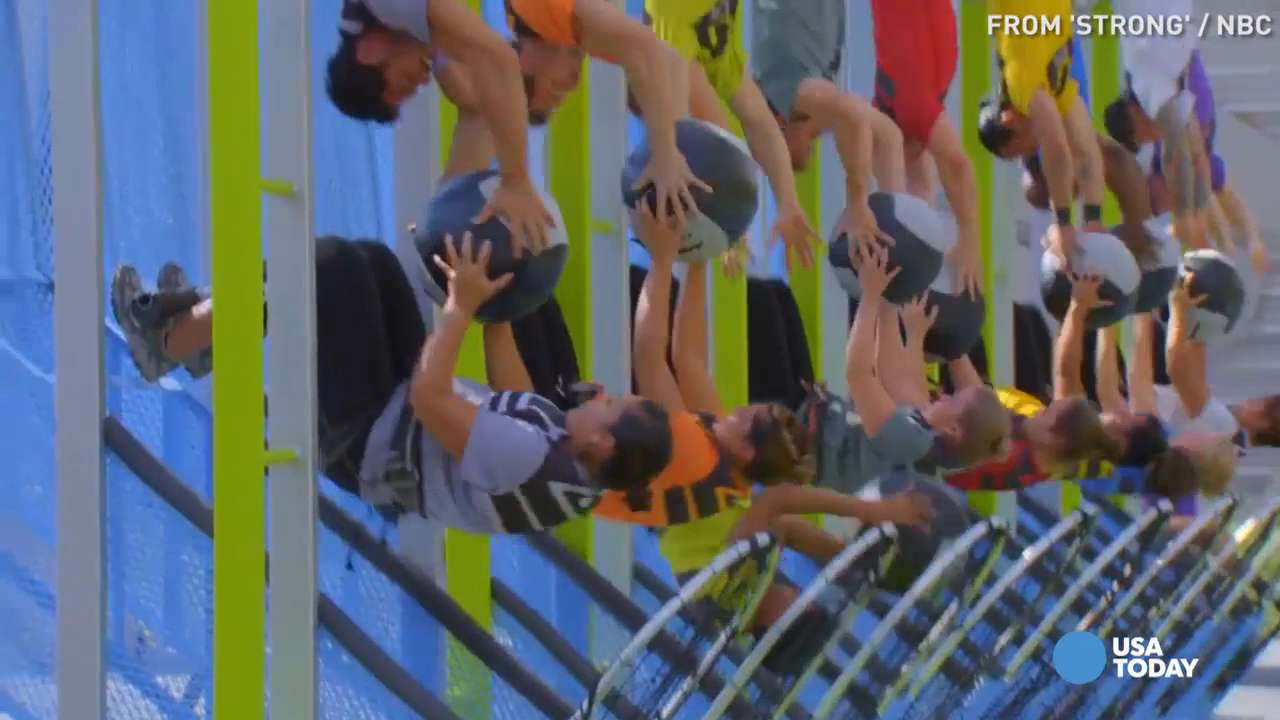 USA TODAY's Robert Bianco previews NBC's latest fitness reality show 'Strong', in which 10 women and their trainers compete in extreme physical challenges, for Wednesday, April 13.