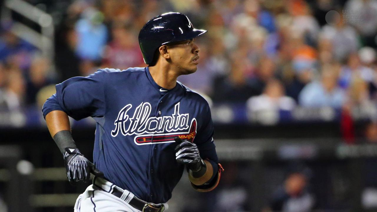 Atlanta Braves outfielder Hector Olivera was arrested in suburban Washington on Wednesday after he allegedly assaulted a woman at the team's hotel, Arlington police spokesperson Ashley Savage told USA TODAY Sports.