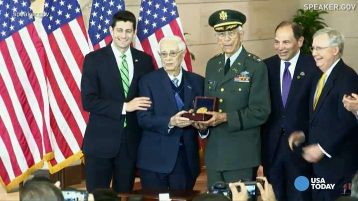 Puerto Rican veterans awarded Congressional Gold Medal