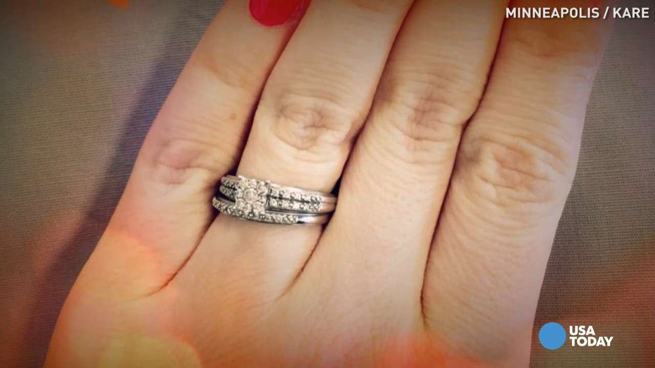 Woman gives epic response after 'small ring' criticism
