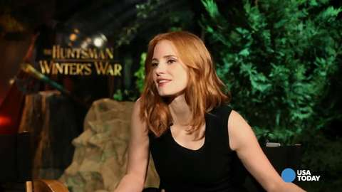 Jessica Chastain rewrites famous fairy tales