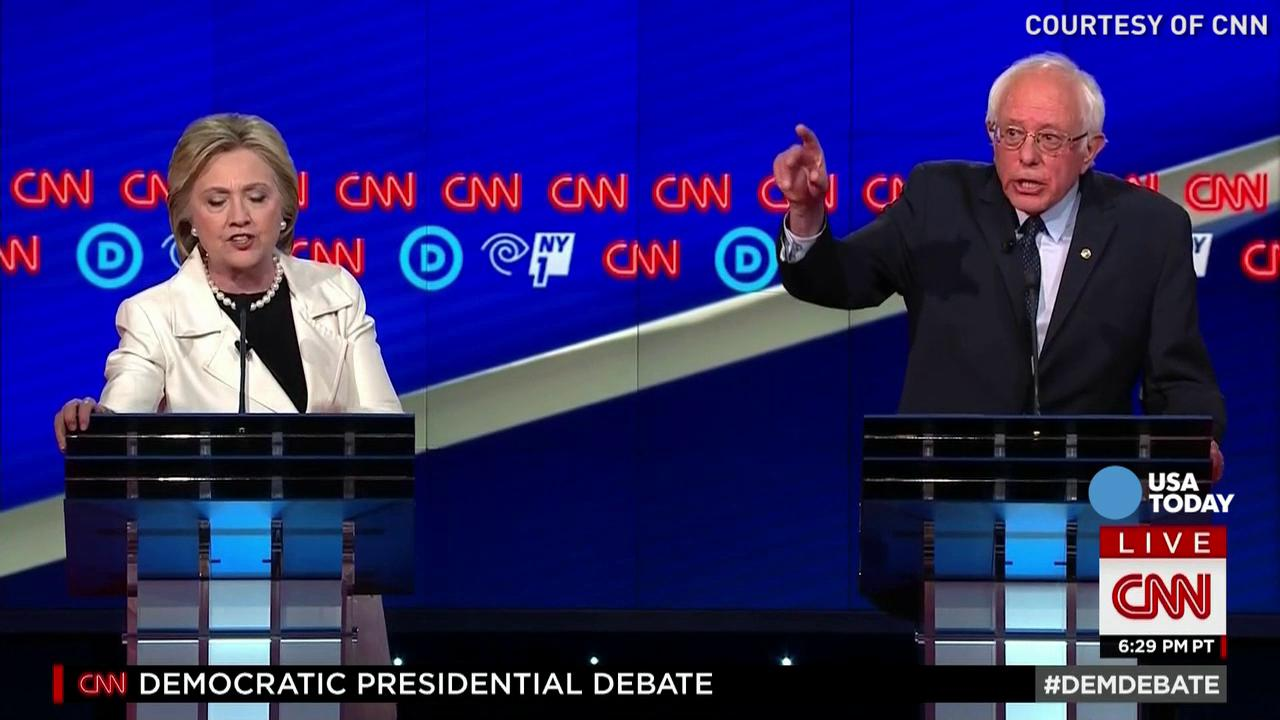Things got heated during 9th Democratic debate