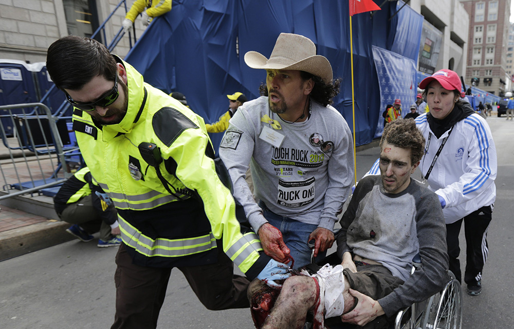 A look back at the images from the Boston Marathon bombing
