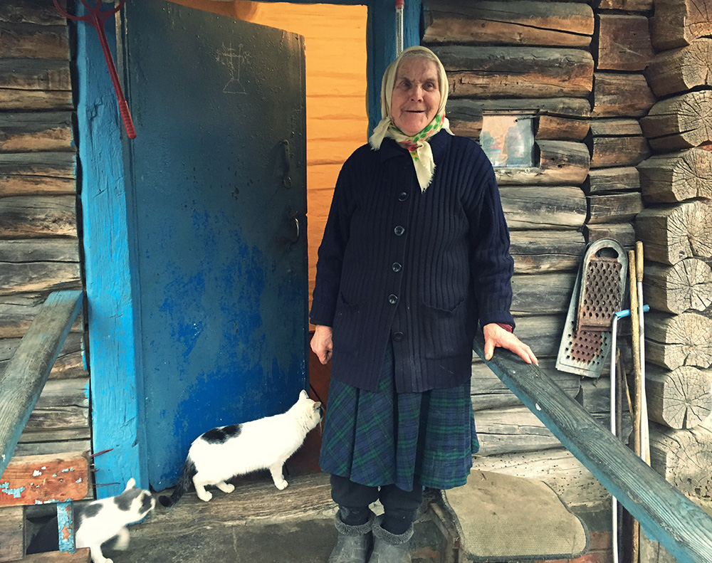 Babushka endures isolation, contaminated land