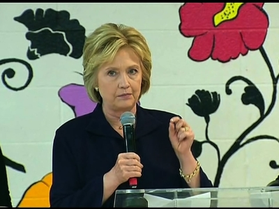 Clinton Pushes Affordable Housing in Harlem