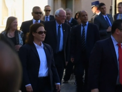 Sanders Moved By Vatican Invite