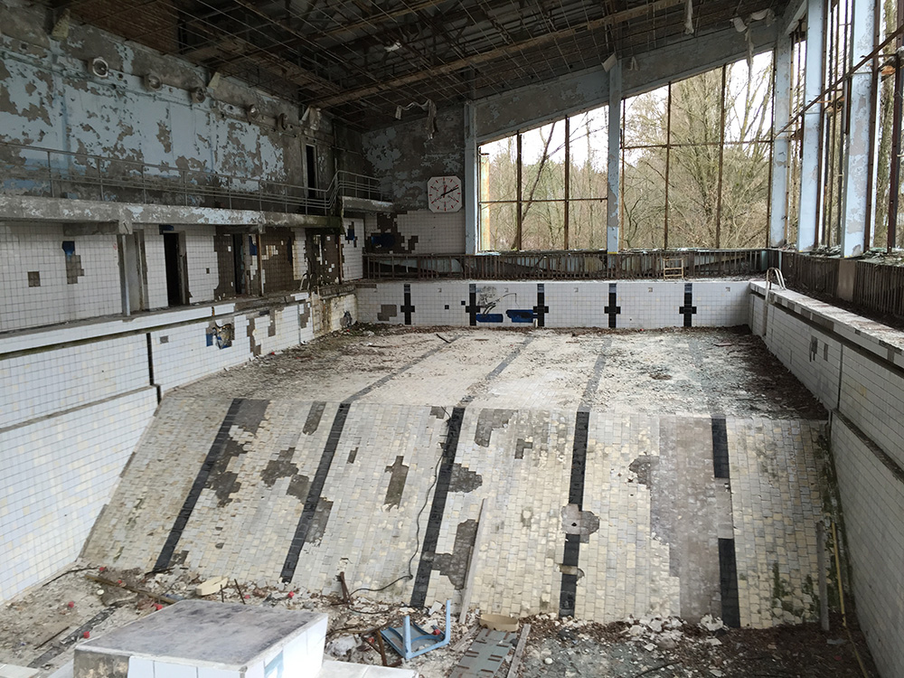 See the deserted city of Pripyat