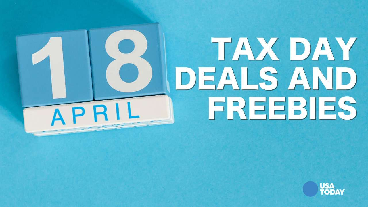 Tax Day can come with some nice sales incentives.