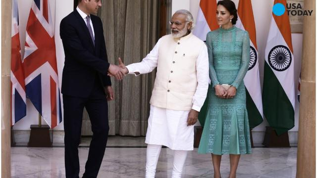 Shaking hands with India's Narendra Modi may not be a good idea.