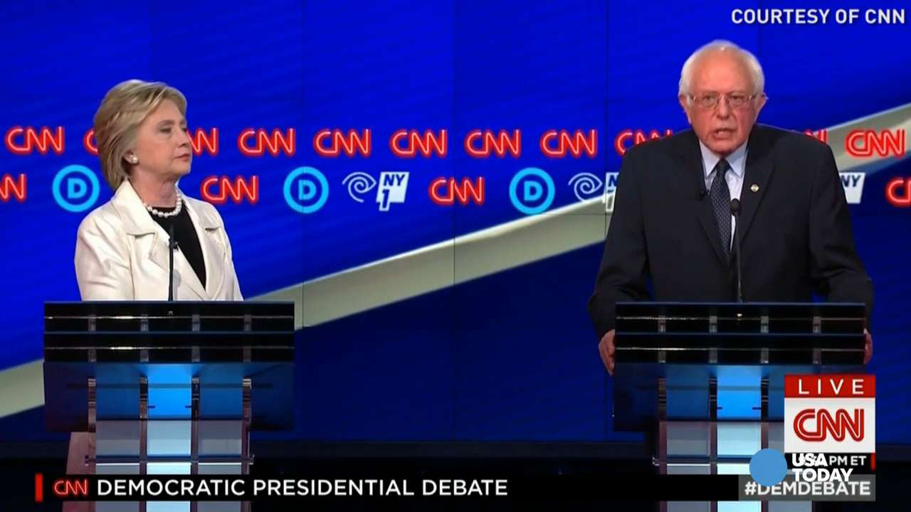 Fact check: Sanders, Clinton spin points in 9th debate