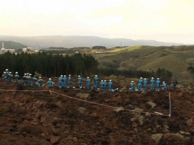 Japan continues search for earthquake survivors