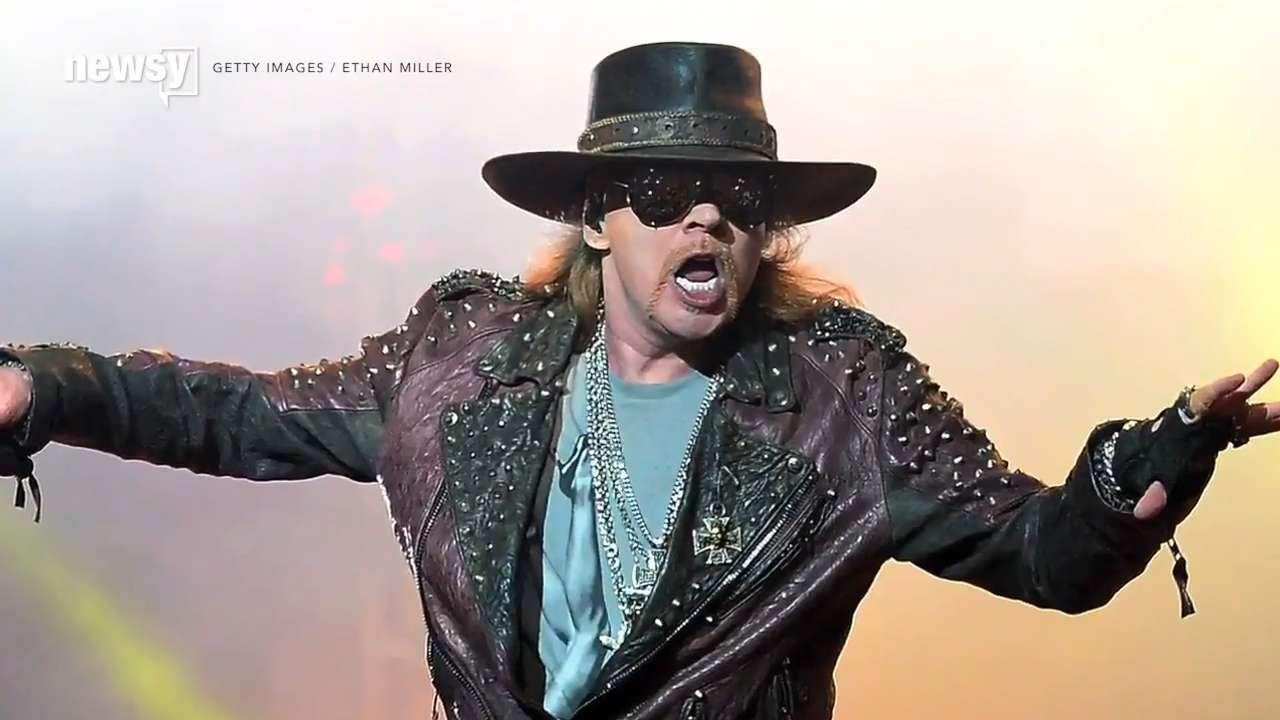 Axl Rose will join AC/DC - for now