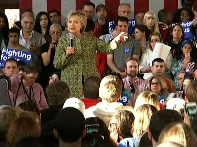 Clinton: 'I Have No Time' for Partisanship