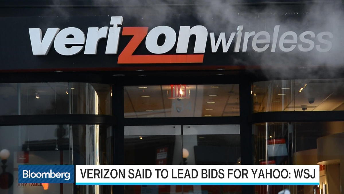 Verizon reported to emerge as lead bidder for Yahoo