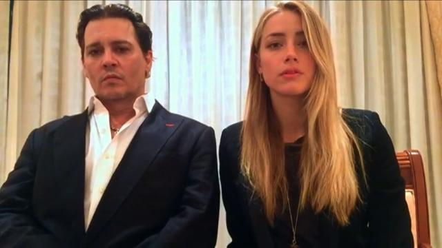 Depp and wife make apology video in end to 'war on terrier'