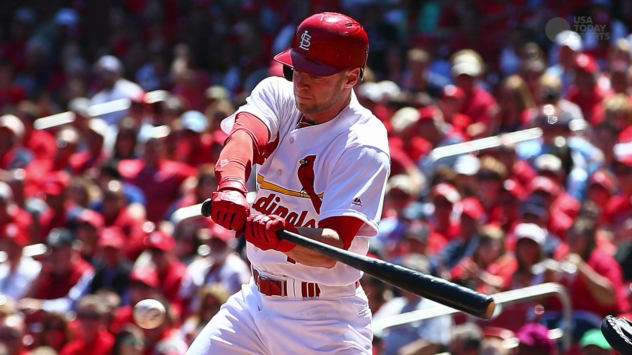 After 751 minor league games, Jeremy Hazelbaker is now getting a chance with the Cardinals, and he is thriving.