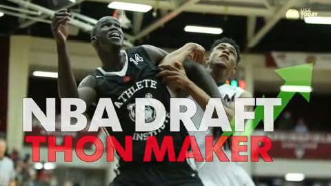 The NBA ruled this week that Thon Maker did, in fact, graduate in 2015, and he turned 19 years old this past February, so he will be eligible for the 2016 NBA draft.