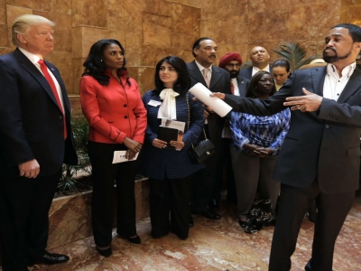 Trump Meets With Minority, Women Backers in NYC